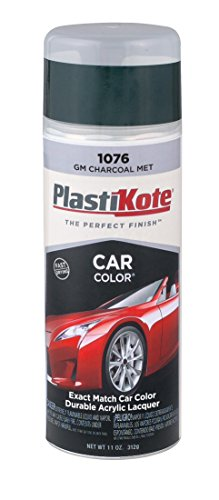 PlastiKote 1076 GM Charcoal Metallic Automotive Touch-Up Paint - 11 oz. - 70 Somerset Island