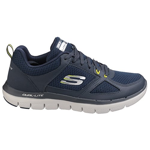 Advantage Oliva 2 Sneaker 0 Skechers Flex Nero Uomo Lindman 8Of8xw