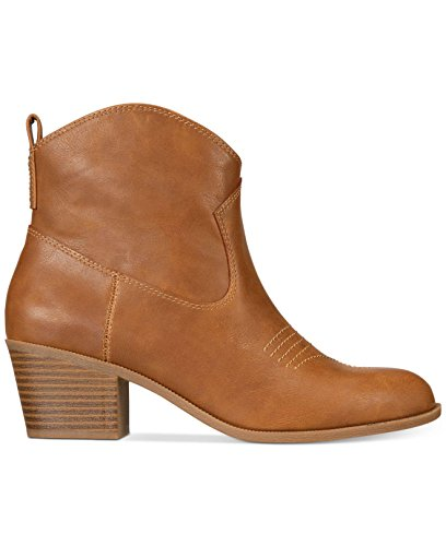 Ankle Boots Mandyy Coffee Cowboy amp; Style Co Toe Closed Womens qH116pU