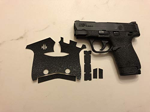 (HandleitgripsTextured Rubber Grip Enhancement for Smith and Wesson Shield 45 ACP )