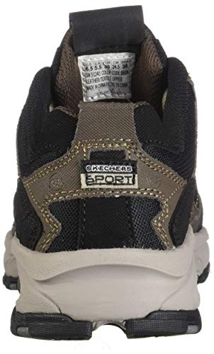 Skechers Sport Men's Vigor 2.0 Trait Memory Foam Sneaker, Brown/Black, 7.5 M US by Skechers (Image #2)