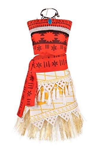 Cheap Halloween Costumes Ideas For Girls (JerrisApparel Princess Costume Skirt Set Little Girls Cosplay Dress Up (4T-5,)