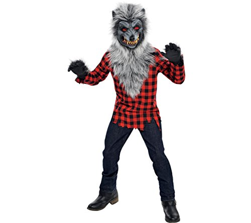 Amscan Boys Hungry Howler Werewolf Costume - Medium (8-10)