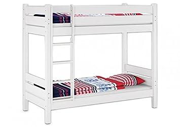 Erst Holz 60 16 09 220 W Etagenbett Für Erwachsene Waschweiss
