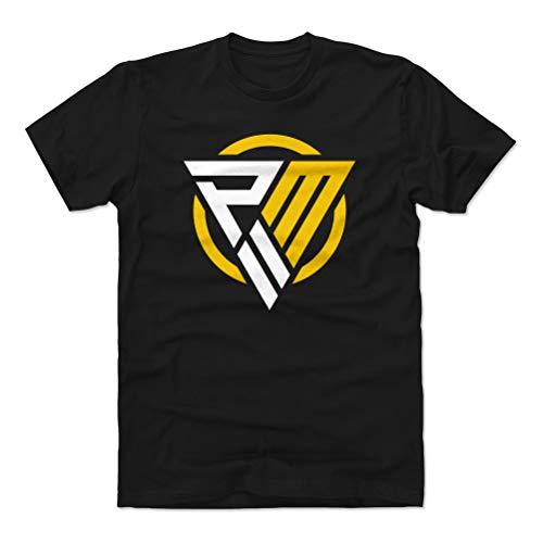 1UP Sports Marketing Patrick Mahomes Cotton Shirt (Medium, Black) - Kansas City Football Men's Apparel - Patrick Mahomes Logo WHT
