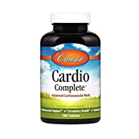 Carlson - Cardio Complete, Advanced Cardiovascular Multivitamin, Heart Health, Circulatory Support