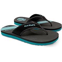 Real Madrid Di Stefano Mens Flip-Flop Sandal, Slipper for Pool Beach & Shower