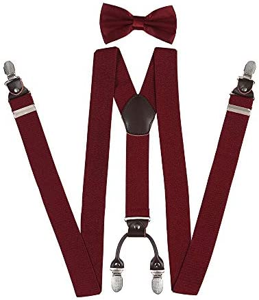3.5cm Wide Gift Box Packaging Hoter Hold Up Suspender for Man X-Back Adjustable 4 Clip On Suspenders 1.38