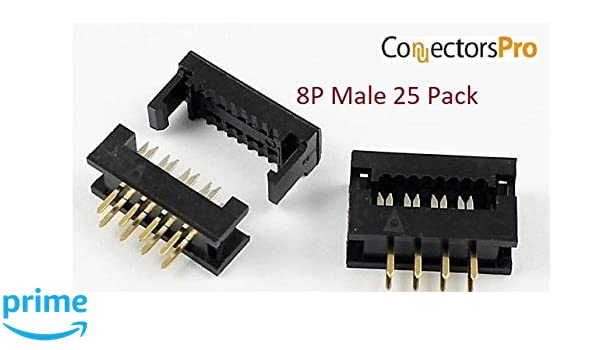 Packs of 5 See Listing IDC FLAT CABLE SOCKET CONNECTORS WITH STRIAN RELIEF