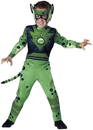 Wild Kratts Green Cheetah Costume