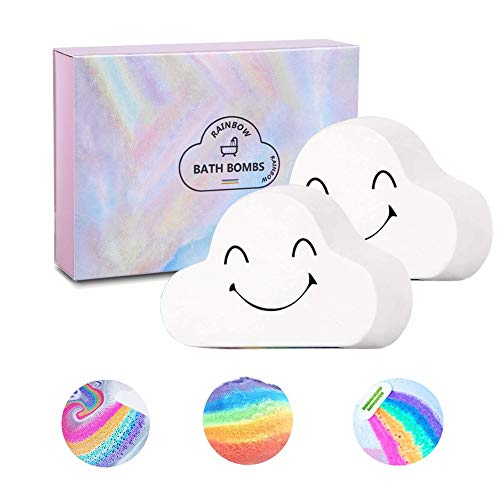 Sagekia Rainbow Bathbombs Group