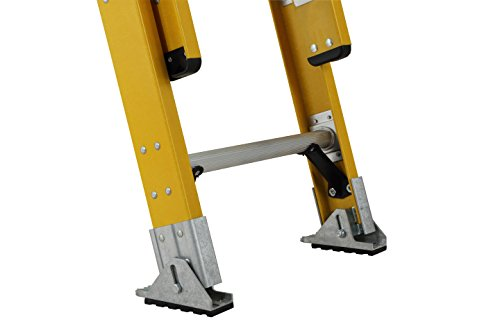 DeWalt DXL3420-32PG 32-Feet Fiberglass Extension Ladder Type IAA with 375-Pound Duty Rating, 32-Feet