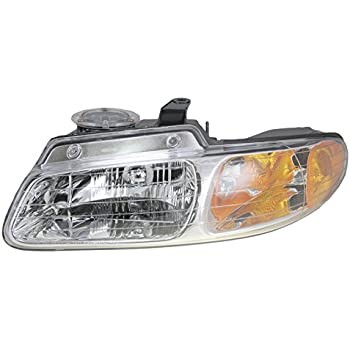 Headlight Headlamp Driver Side Left LH for 91-95 Dodge Grand Caravan Voyager
