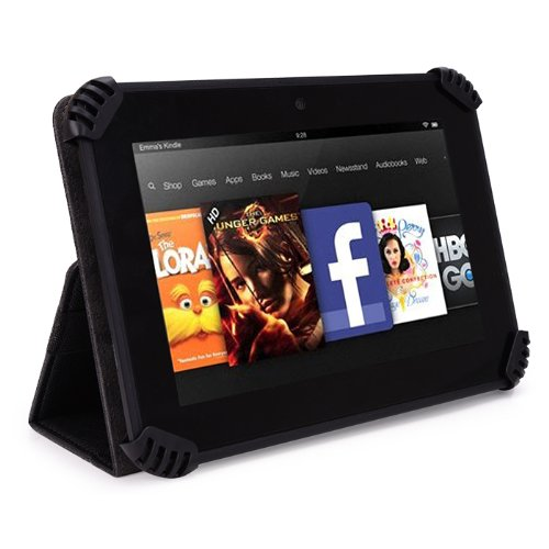 iCraig Mono Core CMP748 7 Inch Tablet Case - UniGrip Edition - Black - by Cush Cases - Fits Model CMP748