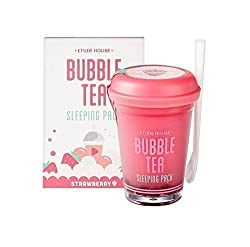 Etude House Bubble Tea Sleeping Pack Review