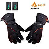 Best Heated Gloves - RTDEP Heated Gloves Winter Warm Gloves with Rechargeable Review
