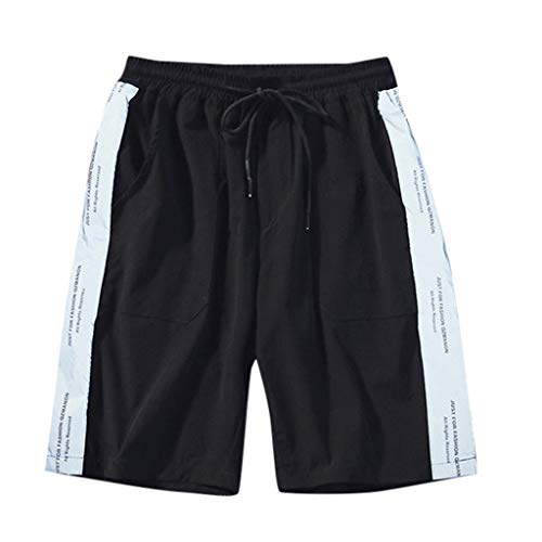 Summer Fashion Men's Stickers Pocket Tether Elastic Sports Pants Shorts, Mmnote - Pyramid Cable Fixture