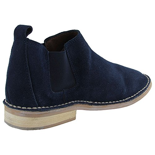 Steven By Steve Madden Women Dylyn Oxford Navy Suede