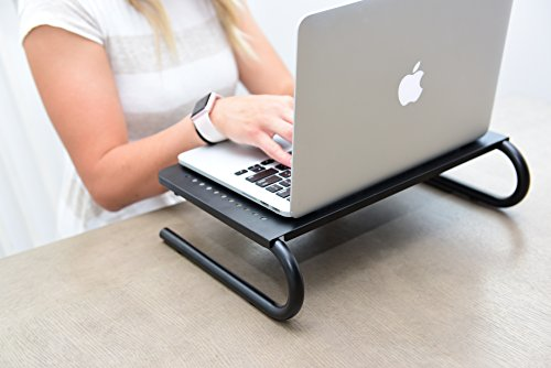 CASIII Monitor Stand Riser Vented for Computer, Laptop, Desk, iMac, Printer Platform inch Height (14.6'' X 10.8'') CAS-082 by Casiii (Image #8)