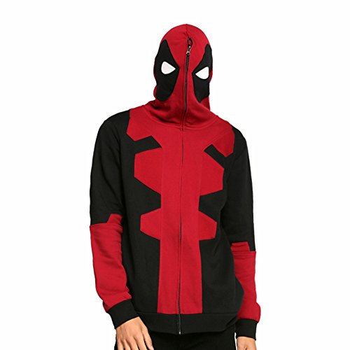 Deadpool Hooded Cosplay Costume - -