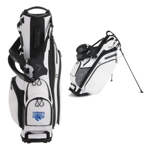 Fayetteville Callaway Hyper Lite 4 White Stand Bag 'Official Logo' by CollegeFanGear