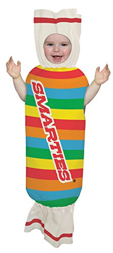 UHC Baby's Smarties Sweet Bunting Candy Theme Infant Newborn Halloween Costume, 3-9M (Candy Costumes For Halloween)