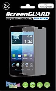 2x Pantech Discover P9090 Premium Invisible Clear LCD Screen Protector Cover Guard Shield Protective Film Kit (Package by GUARMOR)