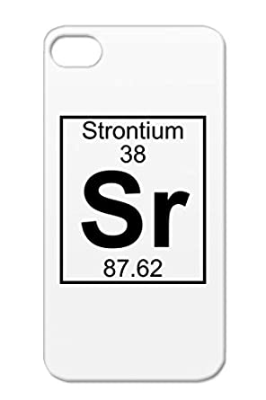 Sr Periodic Table Strontium Geek Chemistry 38 Element Careers