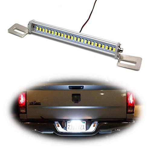 - iJDMTOY Angle Tilt'able 24-SMD Bolt-On LED Lamps For License Plate Lights or Backup Reverse Lights, Xenon White