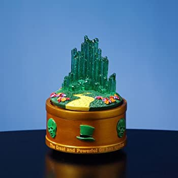 The Wizard of Oz Emerald City Rotating Mini Figurine by The San Francisco Music Box Company