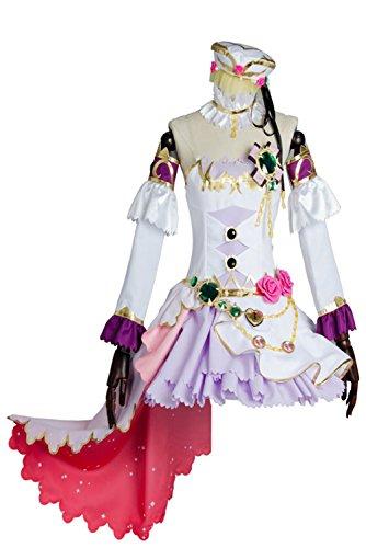 UU-Style Girl's LoveLive! Ayase Eli Birthstone Set Eri Ayase Halloween Cosplay Costume