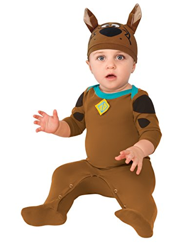 Quick And Easy Halloween Costumes For Boys (Rubie's Costume Co Baby Boys' Scooby Doo Romper Costume, Multi, 0-6 Months)