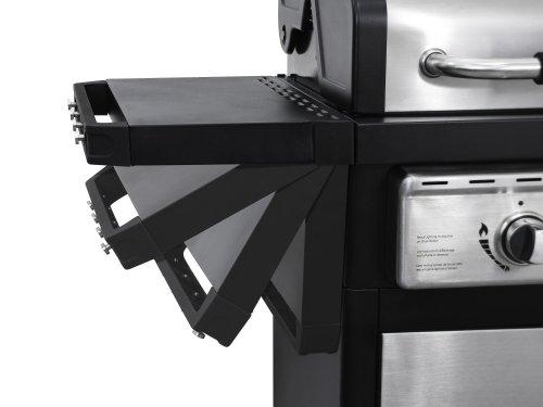 Dyna-Glo Black & Stainless Premium Grills, 2 Burner, Liquid Propane Gas