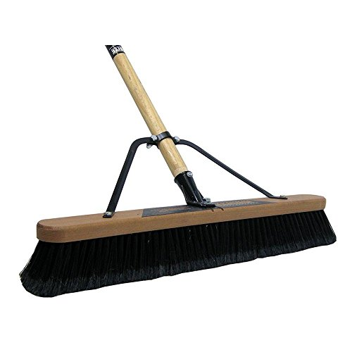 Job Site 24 in. Soft Sweep Push Broom (2-Pack) by Quickie