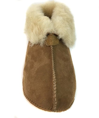 Surell Slippers Womens Comfort Soft Shearling Sole Moccasin Genuine On Sheepskin Slip 77Zwndvxrq