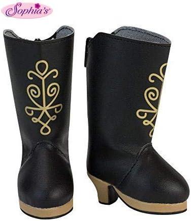 Sophia's 18 Inch Doll Black Heel Boots