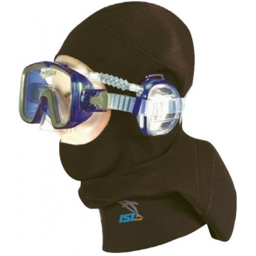 IST 5mm Pro Ear Mask Dive Hood (X-Large) ()