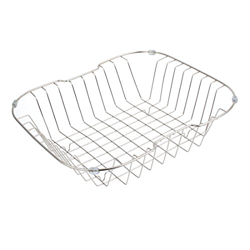 uxcell Kitchen Rack Drainer Storage Holder Stand Sink Caddy 35cmx31cmx10cm by uxcell