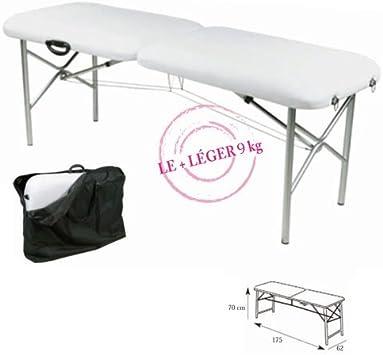 Table De Massage Pliante Légère 8 Kg