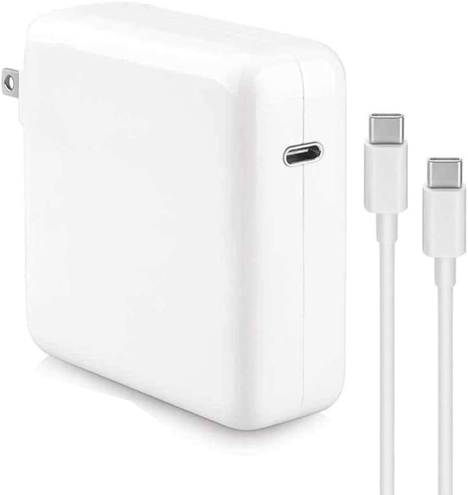 AKUSCON 96W USB C Charger Power Adapter Mac Charger Compatible with MacBook Pro 16 inch 2019 Include Charge Cable
