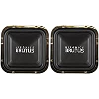 (2) Hifonics BRZ12SQD4 12 2400 Watt Dual 4-Ohm Car Audio Square Subwoofers