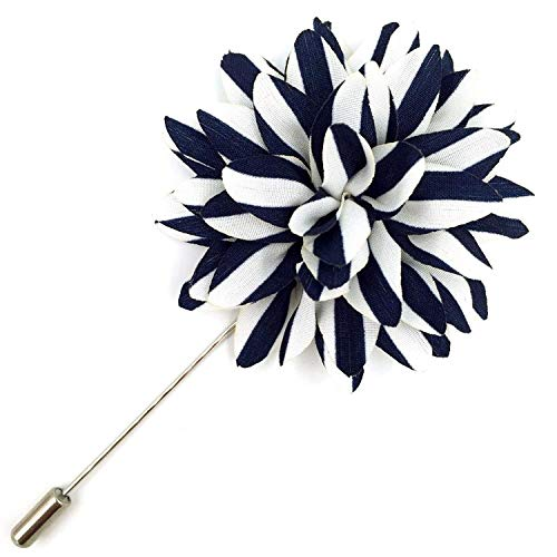 - Assorted Fashion Mens Lapel Flowers Handmade Boutonniere Stick Pin Wedding New