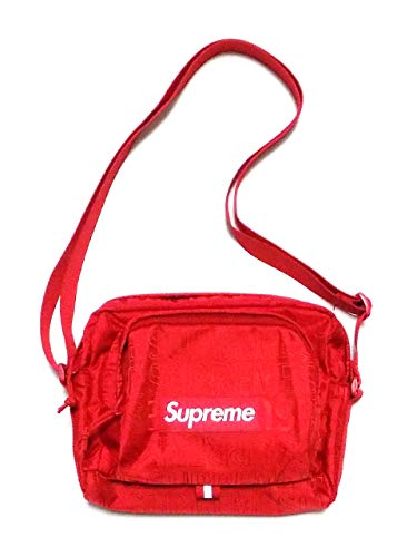 (シュプリーム) Supreme メンズ コーデュラナイロンショルダーバッグ レッド SHOULDER BAG SS19B10 B07PQW7FTT
