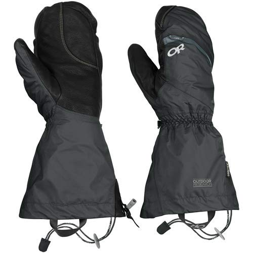 Outdoor Research Men's Alti Mitts, Black, Medium