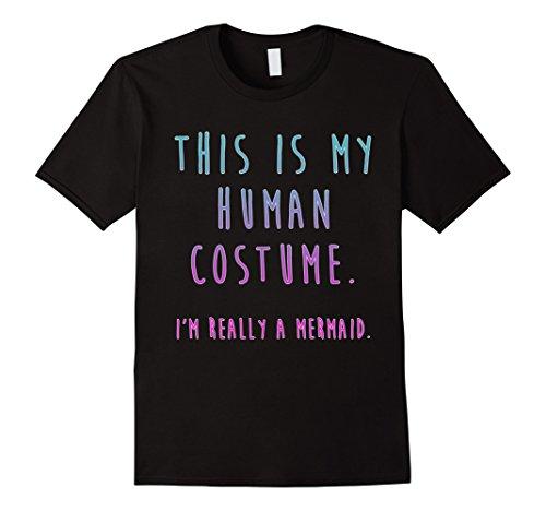 Men's Easy Costume Ideas (Mens Mermaid Costume Adult Women - Easy Halloween Costume Ideas XL Black)