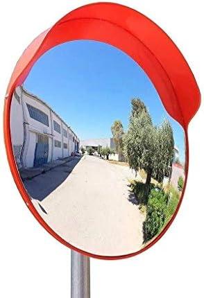 Geng カーブミラー 安全で通りやショップを確認し、屋内と屋外60CM凸PC飛散防止広角レンズ安全ミラー