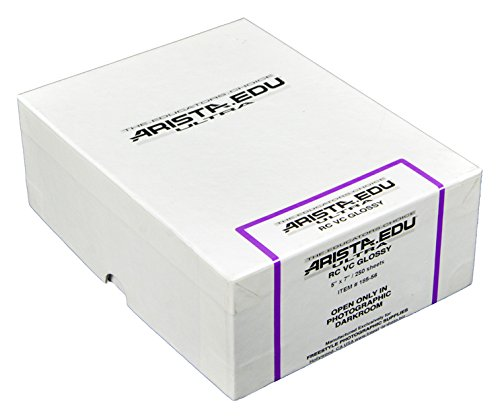 Arista EDU Ultra VC RC Black & White Photographic Paper, Glossy 5x7, 250 Sheets by Arista