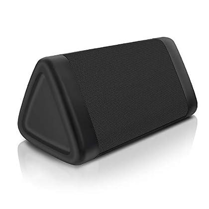 OontZ Angle 3 (3rd Gen) Portable Bluetooth Speaker, Louder Crystal Clear Stereo Sound, Rich bass, 100 Ft Wireless Speaker Range, IPX5, (Midnight Black)