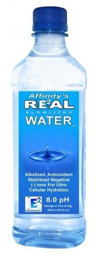 Alkaline Sports Bottled Water 1 Liter by Real Water by Real Water