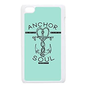 Ipod Touch 4 Cover Cell phone Case Anchor Quotes Bryyi Plastic Durable Cases